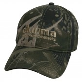 Okuma Full Back Camouflage cepure ar snīpi