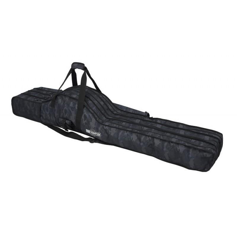 3 dalių meškerių dėklas Ron Thompson Camo 3 Rod And Reel Carry Bag W/1Box