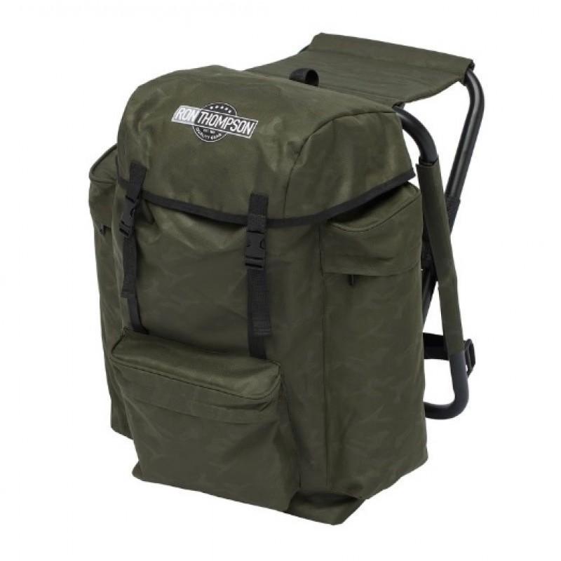 Kėdė-kuprinė Ron Thompson Heavy Duty V2 Backpack Chair