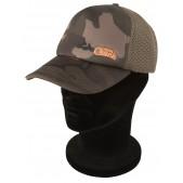 Cepure ar snīpi Fox Chunk Camo Mesh Back Baseball Cap