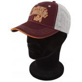Cepure ar snīpi Fox Chunk Grey/Burgundy/Orange Baseball Cap