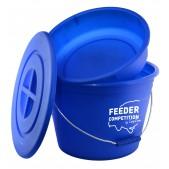 Feeder Competition Bait Bucket&Bowl 25 L Spaini