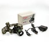Prožektor Uzlādējams ant galvos Zikon BL-6808