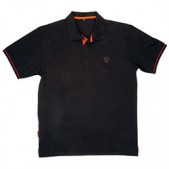 Fox Black Orange Polo Shirt krekli