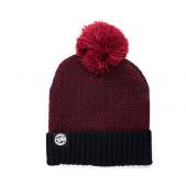 FOX kepurė Chunk Burgundy/Black Bobble Hat