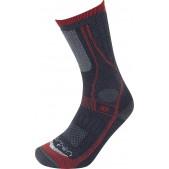 Kojinės Lorpen T3 Heavy Trekker Overcalf Charcoal