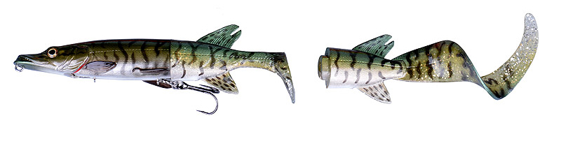 Green Silver Pike